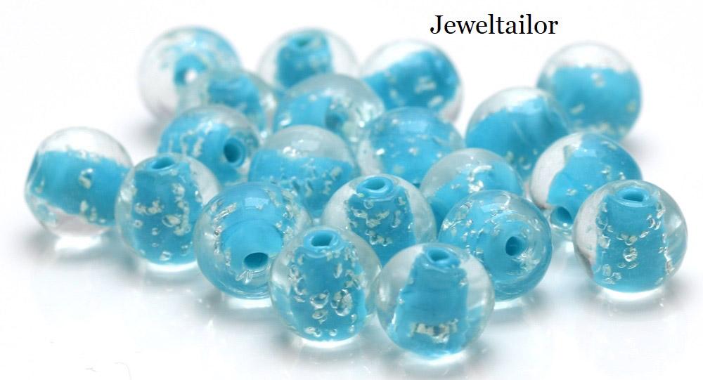 New Glow In The Dark Glass Beads!