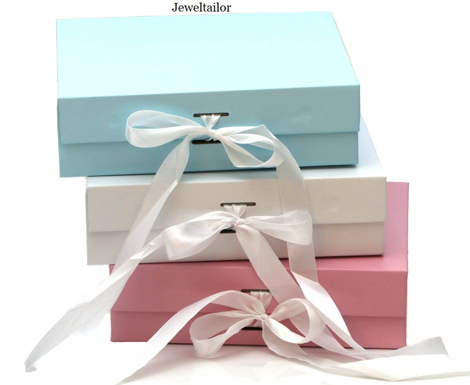 New Changeable Ribbon Gift Boxes At Jeweltailor.com