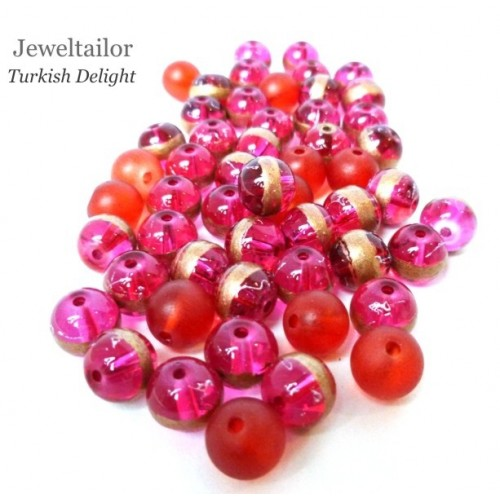 New Turkish Delight Red Bracelet Jewellery Making Gift Set With