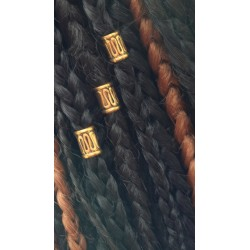 Large Hole Hair Braid Beads