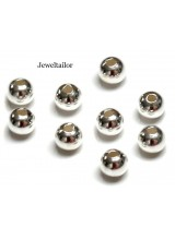 200 Silver Plated  Round Nickel Free Spacer Beads 3mm ~ Jewellery Making Essentials