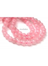 NEW! 1 Strand Of Premium Quality Round Rose Quartz Semi-Precious Gemstone Beads 8mm ~ For Fine Jewellery Making