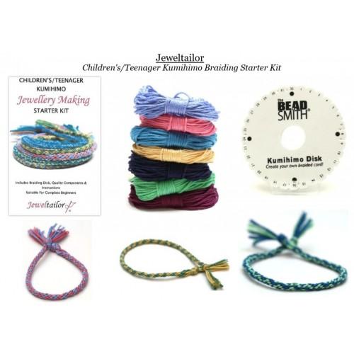 NEW! Children\'s/Teenager Kumihimo Starter Kit With Beadsmith ...