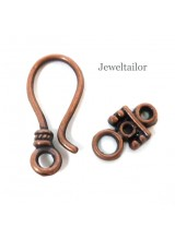 5-20 Sets Of Copper S Hook Clasps 25mm ~  Ideal For Stylish Designs ~ Limited Editions Collection