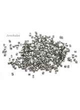 NEW! 200-1000 Silver Plated Nickel Free Tube Crimp Beads 2mm ~ Jewellery Making Essentials