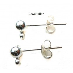 Earring Stud Findings