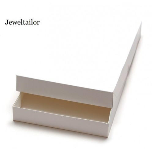 15 white extra large two piece recycled rectangle gift boxes 38cm an ideal gift