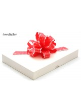 1 Medium Size White Two Piece Recycled Rectangle Gift Box 25cm (10 Inches) ~ An Ideal Gift, Keepsake, Bespoke Hamper or Box for Books