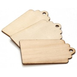 Wooden Stamping Blanks & Tags