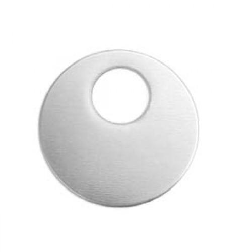 NEW! 10 Impressart Silver Aluminium Large Offset Washer