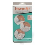 New! Impressart Stamp Sticker Guide Set For Metal Stamping ~ 70 Stickers For Direct Application To Metal For Circular & Intricate Designs
