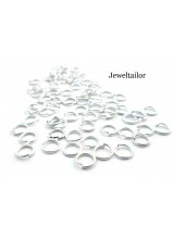 200-1000 Silver Plated Nickel Free Jump Rings 5mm ~ Jewellery Making Essentials