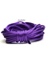4-20 Metres Purple Haze Rattail Silky Satin Cord 2mm ~ Ideal For Kumihimo, Macrame, Braiding & Shamballa Designs ~ Craft Essentials