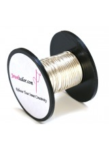 5-30 Metres Silver Plated 0.8mm (20 Gauge) Aluminium Stay Bright Craft Wire ~ Jewellery Making Essentials