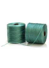 NEW! Beadsmith 77 Yards Vintage Jade S-Lon Superlon Tex 210 Bead Cord ~ Ideal For Kumihimo, Macrame, Braiding & Beading Designs ~ Craft Essentials
