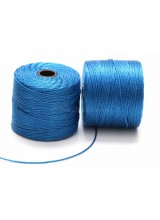 Beadsmith 77 Yards Blue Lagoon S-Lon Superlon Tex 210 Bead Cord ~ Ideal For Kumihimo, Macrame, Braiding & Beading Designs ~ Craft Essentials