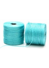 Beadsmith 77 Yards Aqua S-Lon Superlon Tex 210 Bead Cord ~ Ideal For Kumihimo, Macrame, Braiding & Beading Designs ~ Craft Essentials