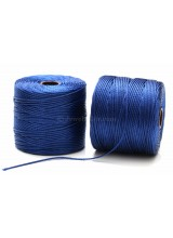 Beadsmith 77 Yards Capri Blue S-Lon Superlon Tex 210 Bead Cord ~ Ideal For Kumihimo, Macrame, Braiding & Beading Designs ~ Craft Essentials