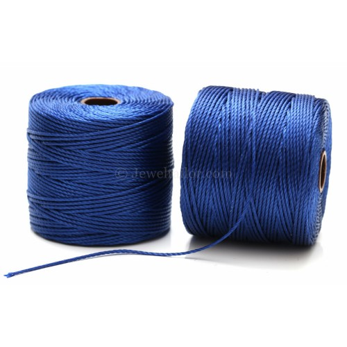 Macrame Knotting Cord Braiding Cord Light Maize Kumihimo S-Lon Bead Cord 77 Yard Spool SLBC-LM Superlon Bead Cord TEX210