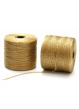 Beadsmith 77 Yards Bronze S-Lon Superlon Tex 210 Bead Cord ~ Ideal For Kumihimo, Macrame, Braiding & Beading Designs ~ Craft Essentials