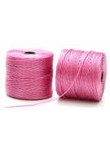 Beadsmith 77 Yards Orchid Pink S-Lon Superlon Tex 210 Bead Cord ~ Ideal For Kumihimo, Macrame, Braiding & Beading Designs ~ Craft Essentials