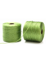 Beadsmith 77 Yards Avocado Green S-Lon Superlon Tex 210 Bead Cord ~ Ideal For Kumihimo, Macrame, Braiding & Beading Designs ~ Craft Essentials