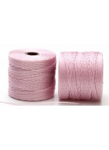Beadsmith 77 Yards Blush Pink S-Lon Superlon Tex 210 Bead Cord ~ Ideal For Kumihimo, Macrame, Braiding & Beading Designs ~ Craft Essentials