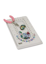 1 Beadsmith Mini Bead Board 10 x 17cm (4 x 6.7 inch) ~ Ideal For Crafts On The Go & Travel