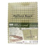 NEW! Beadsmith Mini Macrame Board 19cm x 26.5cm (7.5 x 10.5 Inch) Inches With Free Bracelet Project ~ Ideal For Travel & Crafting On The Go
