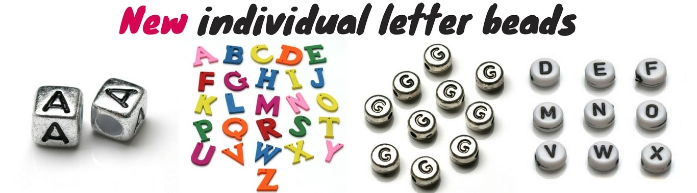Jeweltailor New Individual Letter Beads